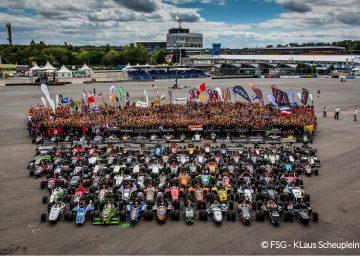 Panoramabild alle Teams FSG 2013
